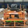 座驾式混凝土抹平机电动载人双盘磨平机桥面高速公路